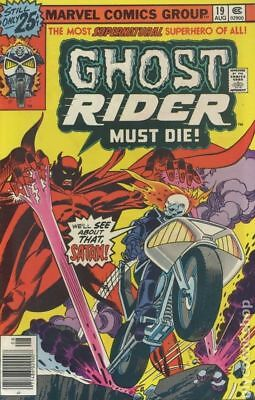 Ghost Rider (1st Series) #19 1976 VG/FN 5.0 Stock Image Low Grade