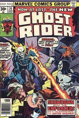 Ghost Rider (1st Series) #24 1977 VG 4.0 Stock Image Low Grade