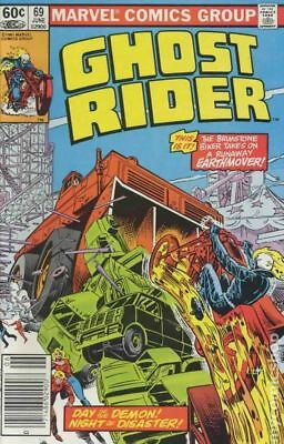 Ghost Rider (1st Series) #69 1982 VF Stock Image