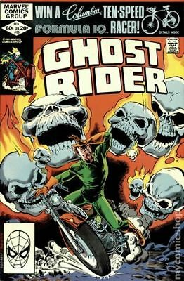 Ghost Rider (1st Series) Mark Jewelers #65MJ 1982 VG 4.0 Stock Image Low Grade