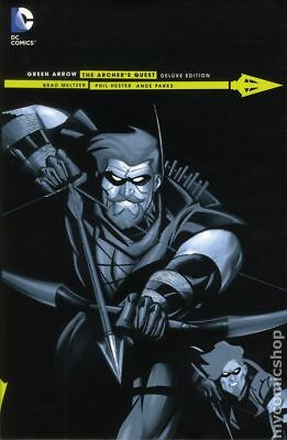 Green Arrow The Archer's Quest HC (DC) Deluxe Edition #1-1ST 2015 NM Stock Image