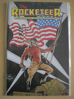 The ROCKETEER MOVIE ADAPTATION by PETER DAVID, RUSS HEATH. BETTY PAGE. 1980's