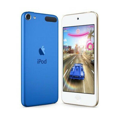 Apple iPod touch 6th Generation Blue - 16GB - Flash Portable Media Music Player