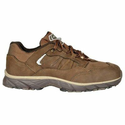 """Cofra JV028-000.W44 Size 44 S3 SRC """"New Ghost"""" Safety Shoes - Brown"""