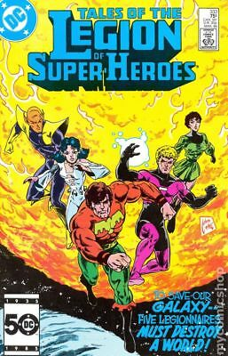 Legion of Super-Heroes (2nd Series) #333 1986 VF Stock Image