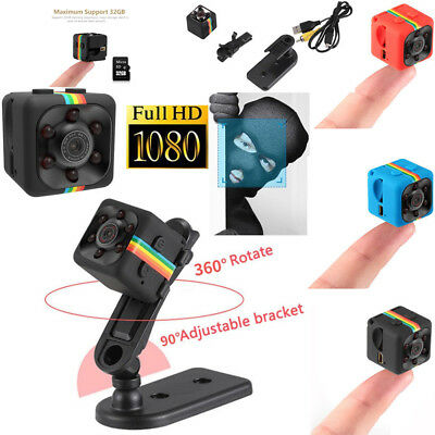 Latest SQ11 HD 1080P Mini Car Hidden DV DVR Camera Spy Dash Cam IR Night Vision