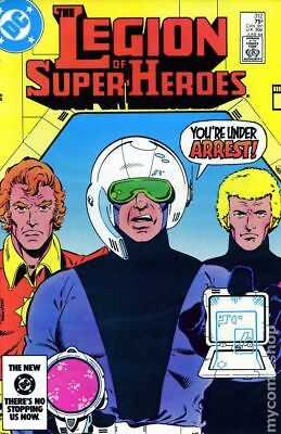 Legion of Super-Heroes (2nd Series) Mark Jewelers #312MJ 1984 VG Stock Image