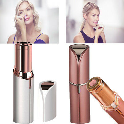 Women's Painless Rechargeable Flawless Face Hair Remover Finishing Facial Touch