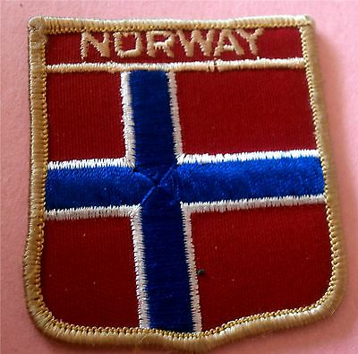 Norway Flag - New Iron-On Patch