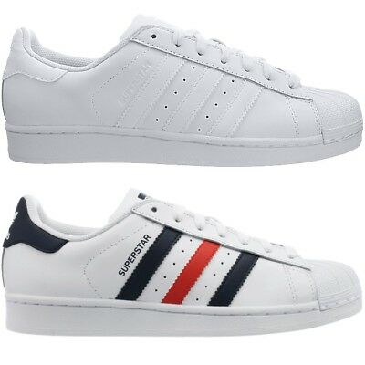 ADIDAS SUPERSTAR FOUNDATION men's sneakers white or white