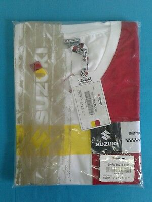 Damen Suzuki Motorsport Lady Shirt neu Größe 38 / M  Teamviewer Collection