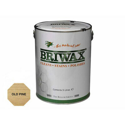 Briwax Original Wax Polish Old Pine 5 Litre The Natural Wax, Cleans and Polishes