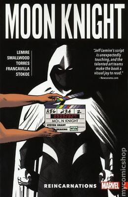 Moon Knight TPB (Marvel) By Jeff Lemire 2-1ST 2017 NM Stock Image