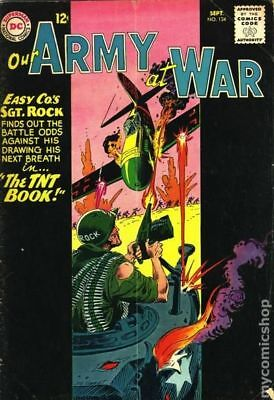 Our Army at War #134 1963 GD/VG 3.0 Stock Image