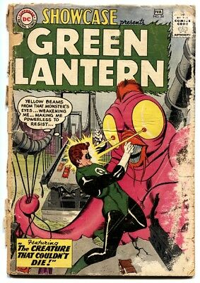 SHOWCASE COMICS #24 1960-3rd SILVER AGE GREEN LANTERN