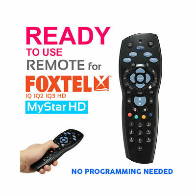 Foxtel Remote Control Replacement For Foxtel Mystar Sky New Zealand IQ IQ2 IQ3