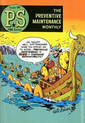 PS The Preventive Maintenance Monthly #190 1968 VG- 3.5 Stock Image Low Grade