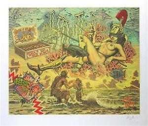 Robert Williams Queen Of Atlantis Art Print Signed Numbered Limited Edition
