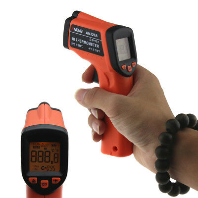 Digital Infrared Handheld Temperature Gun Thermometer Non-Contact IR Laser  GA