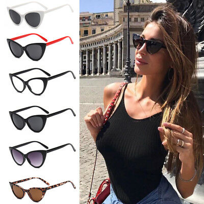 2018 Small Sunglasses Cat Eye Fashion Retro Women Vintage Sun Glasses Aviator