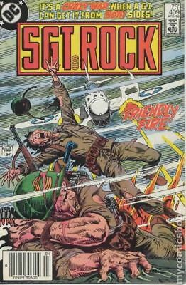 Sgt. Rock #409 1986 VF Stock Image