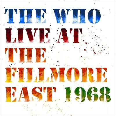 The Who - Live at the Fillmore East April 6th 1968 - New Vinyl 3LP