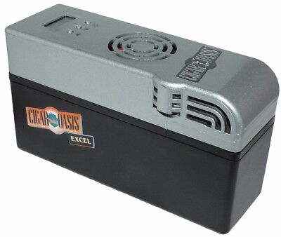 CIGAR OASIS Excel Electronic Electric Humidor Humidifier + Free Cartridge
