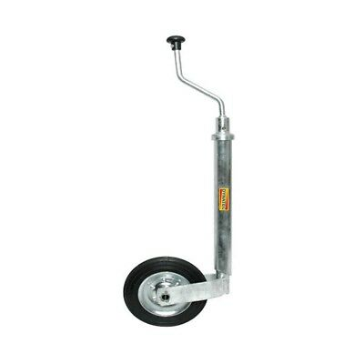 Jockey Wheel 48mm Smooth Plant Trailer Compressor Caravan Generator Fits Bradley