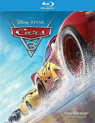 Cars: 3 (Blu-ray Disc ONLY, 2017)