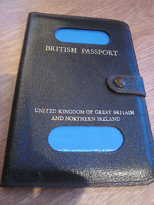 New British UK Passport Holder Protector Cover Wallet PU Leather Cover hcuk RE