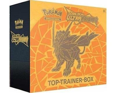 Sonne & Mond 5: Ultra Prisma Top-Trainer Box - Deutsch - Gelbe Version