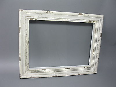 48cm x 37cm shabby chic wooden driftwood mirror with hooks. Black Bedroom Furniture Sets. Home Design Ideas