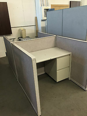 """45""""W x 45""""D x 42""""H TELEMARKETERS / CALL CENTER CUBICLES/PARTITIONS by STEELCASE"""