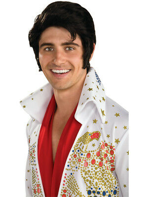 New Official Elvis Presley Adult Costume Accessory Wig