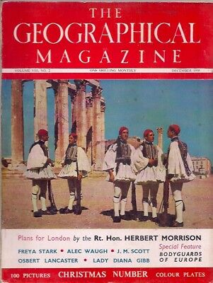 the geographical magazine-DEC 1938-BODYGUARDS OF EUROPE.