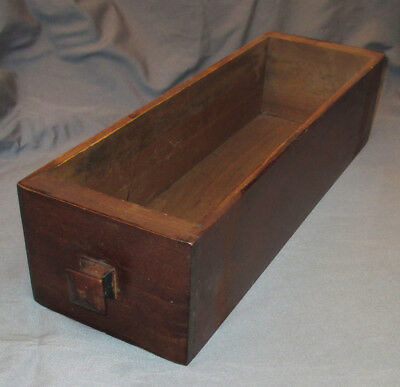 B Antique Vintage Sears Franklin Treadle Sewing Machine Cabinet Drawer