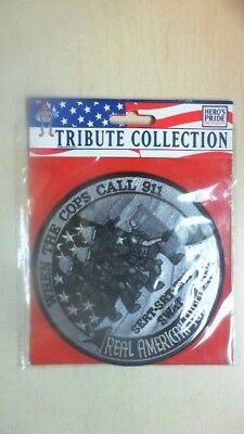 "Hero's Pride Tribute Collection  12""  ""Real American Heroes Patch TU20"
