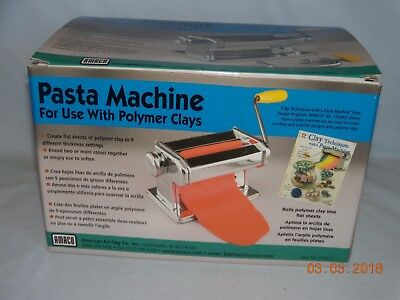 Amaco Pasta Machine For Use With Polymer Clays New In Box