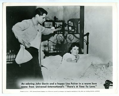 Theres A Time To Love Lisa Pulver John Gavin 8x10 Bw Promo Still