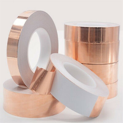 0.06MM×8MM×20M Copper Foil Tape Conductive Self Adhesive Heat Insulation Tape