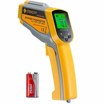 Etekcity Lasergrip 1030D Infrared Thermometer Digital Dual Laser Temperature Gun
