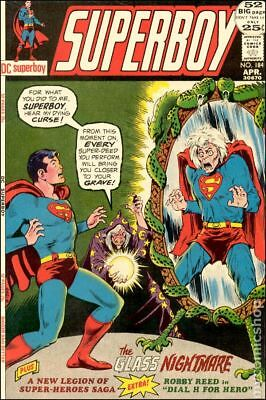 Superboy (1st Series DC) #184 1972 FN Stock Image