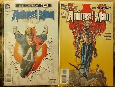 ANIMAL MAN 0, 1-29, Annual 1 complete series (New 52, Jeff Lemire, Swamp Thing)