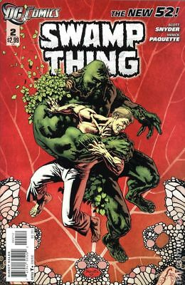 Swamp Thing (5th Series) #2B 2011 FN Stock Image