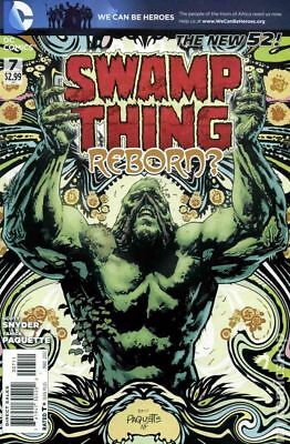 Swamp Thing (5th Series) #7A 2012 FN Stock Image