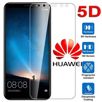 9H 5D Curved Full Screen Protector Tempered Glass for Huawei Mate10 Lite P10