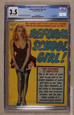 Reform School Girl! #0 1951 CGC 3.5 1245808007