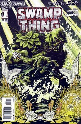 Swamp Thing (5th Series) 1A 2011 VG/FN 5.0 Stock Image Low Grade