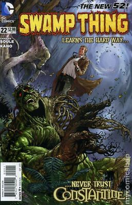 Swamp Thing (5th Series) #22 2013 VF Stock Image