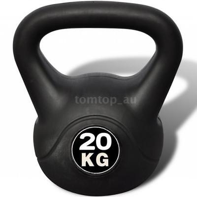 Kettle Bell Training Weight Gym Strength Exercise Kettlebell Dumbbell 20KG K0S6